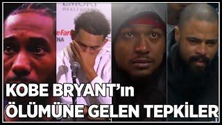 Kobe Bryantın Ölümüne Gelen Tepkiler(Türkçe) LeBron, Wade, Neymar, Shaq....