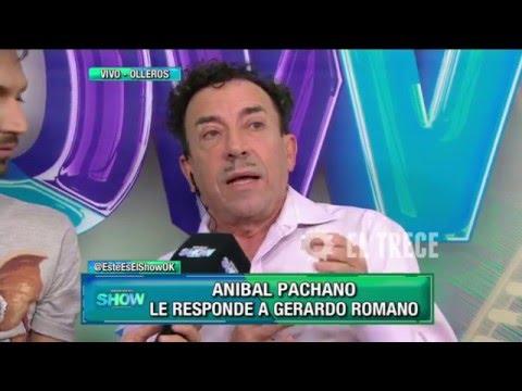 Aníbal Pachano furioso con Gerardo Romano y con Alejandra Darín