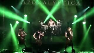 Apocalyptica live @ Barcelona 2015 : Hall of the mountain king