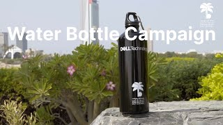Dubai Golf - Sustainable Water Bottle Campaign