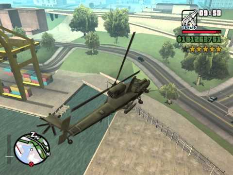 GTA San Andreas Big 6 Star Rampage Part 5