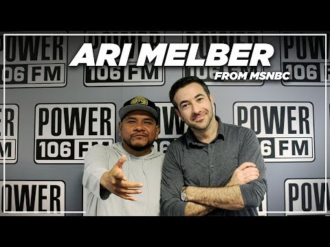 Ari Melber- Trump as a rap song, Working the Obama Campaign, and more!