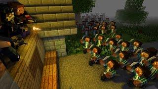 ВЫЖИТЬ В ЗОМБИ АПОКАЛИПСИСЕ [Minecraft] #7 - НАПАЛИ НА ЛАГЕРЬ