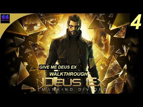 Deus Ex: Mankind Divided -Ghost/Stealth Walkthrough Gameplay Part 4 - Prague Corrupt Police 2/2