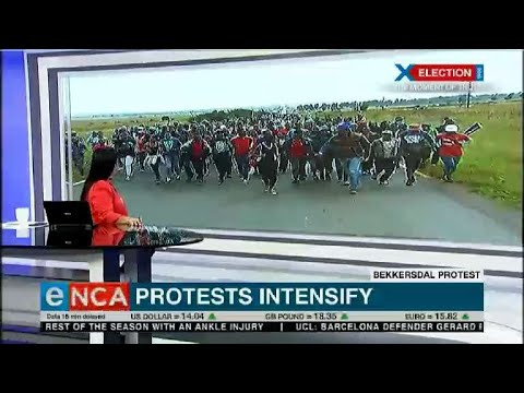 Download Bekkersdal residents protest intensify