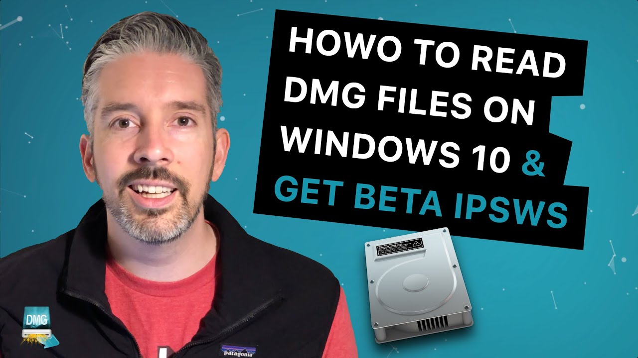 How to extract IPSW files from an iOS beta DMG on Windows
