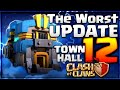 TH12 IS THE WORST UPDATE EVER? ENGINEERED BASES ARE DEAD CLASH OF CLANS BALANCE UPDATE•FUTURE T18