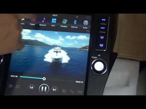 Штатная магнитола Toyota Prado 150 2010 - 2013 Android 12дюймов