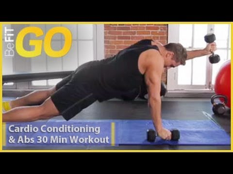 BeFiT GO: 30 Minute Cardio Conditioning & Ab Workout (high-intensity circuit training)