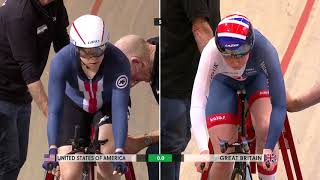 Video Women's Team Pursuit Finals - 2018 UCI Track Cycling World Championships download MP3, 3GP, MP4, WEBM, AVI, FLV Juli 2018