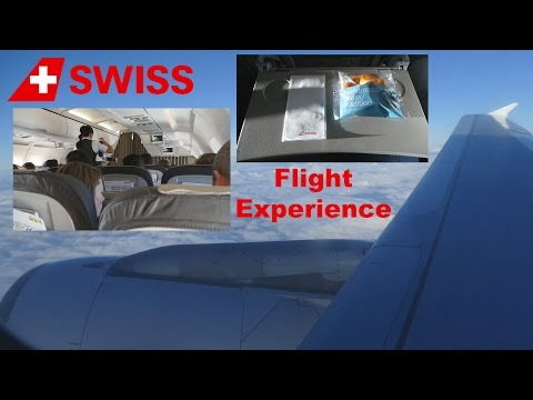 Swiss Flight Experience - Geneva to Heathrow