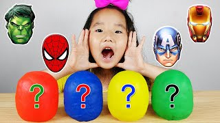 그림 그리면 슈퍼히어로가 나타나요!  Color Surprise Superheros dance with LittleJoy