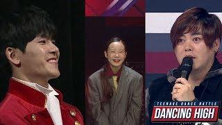 댄싱하이 - 호야팀 에이스 솔로 무대 심사평 20181015