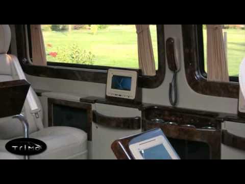 Mercedes Sprinter Van >> Trimo Mercedes Sprinter Mobile Office 1 - YouTube