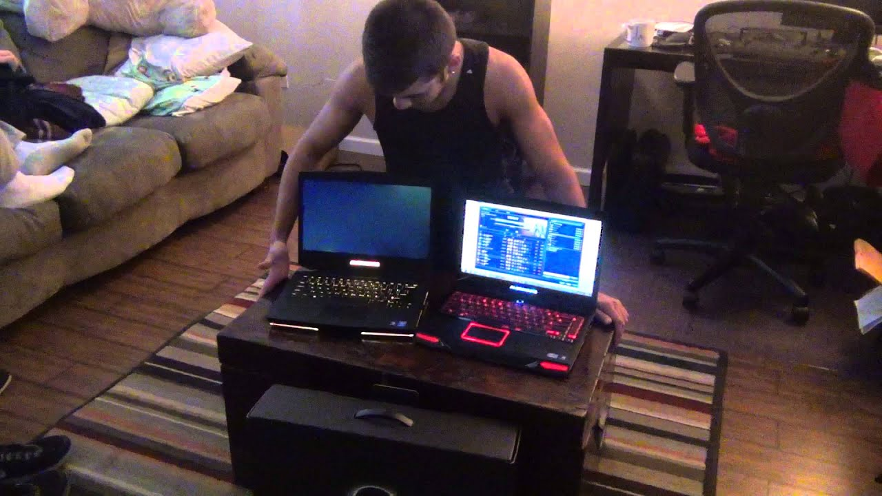 2014 Alienware 14 Unboxing Video Side By Side To M14x R2