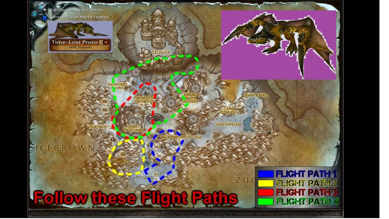 addon proto drake perdu dans le temps