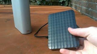 Samsung M3 Portable 4TB External Hard Drive Unboxing