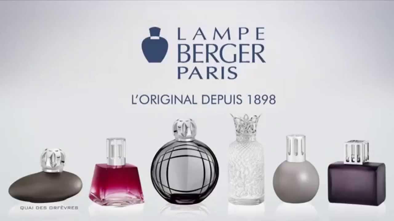 Lampe Berger Paris en TV - YouTube