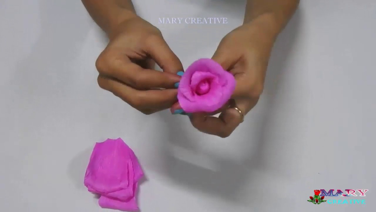 how to make paper flowers paper roses paper flower tutorial flower making mary creative