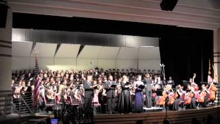 Marriotts Ridge HS Symphonic Orchestra & Chorale Spring Concert 2014 -- Beethoven
