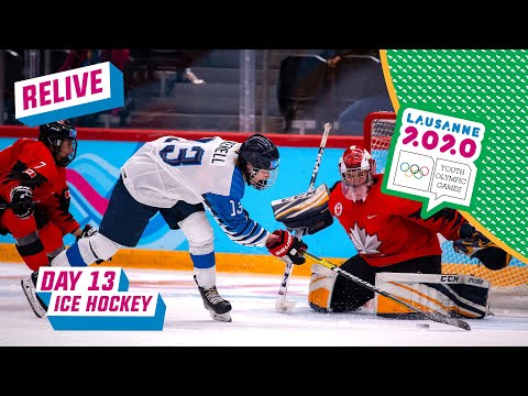 RELIVE - Ice Hockey - Men's Bronze Medal Game - CANADA Vs FINLAND - Day 13 | Lausanne 2020