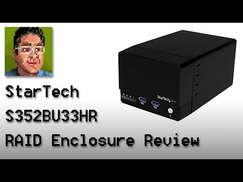 StarTech S352BU33HR HDD RAID Enclosure Review