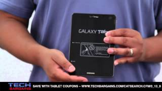 Samsung Galaxy Tab 7.7 Tablet Unboxing (HD)