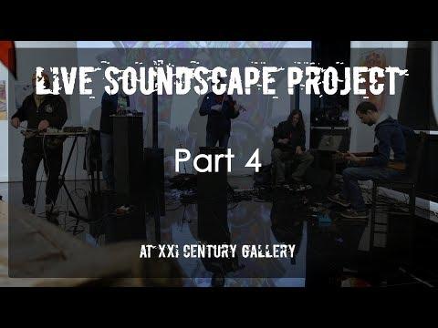 Live Soundscape Project @ XXI Century Gallery #4 (Ontalva, Borisov, Balashov, Yakushenko, Medvedev)