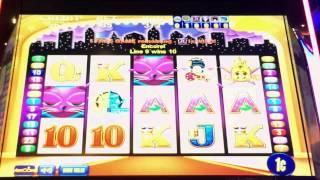 All Stars slot machine   view from Rivers Casino bar; 2 Bonuses & Retrigger