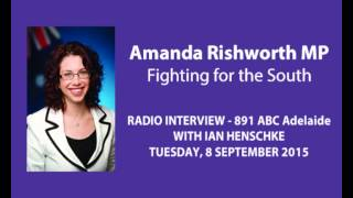 Amanda Rishworth MP with Ian Henschke 891 ABC Adelaide - cuts to services for Forgotten Australians