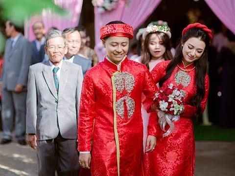 Áo dài cưới cách tân Đẹp, Hiện Đại, Đẳng Cấp – Áo dài cách tân nam nữ Hiền Minh