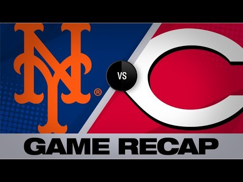 Colon's single in 8th lifts Reds past Mets | Mets-Reds Game Highlights 9/21/19