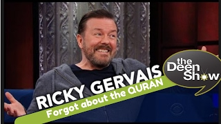 Ricky Gervais And Stephen Go Head-To-Head On Religion but NOT THE QURAN