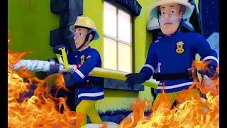 Strażak Sam  Czerwony to niebezpieczeństwo!  Nowe odcinki Duża kolekcja Bajka dla dzieci