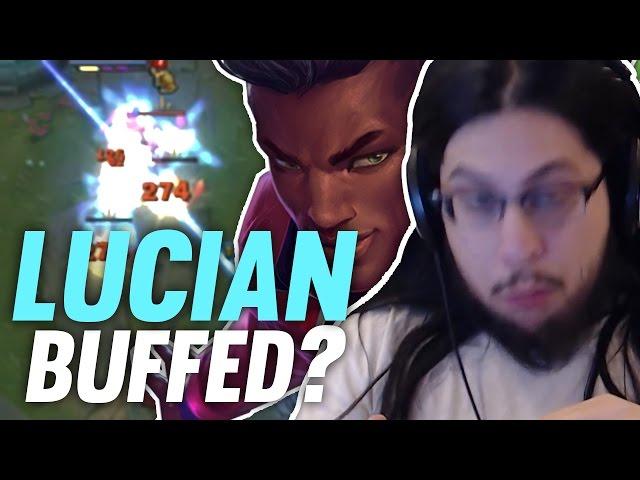 Imaqtpie - LUCIAN GOT BUFFED? ft. Some guy whos not Swifte