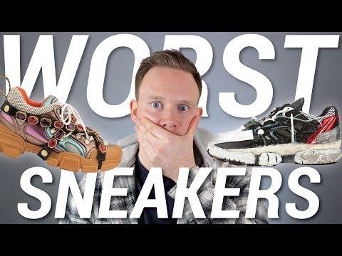 Top 10 WORST Sneaker Releases of 2018