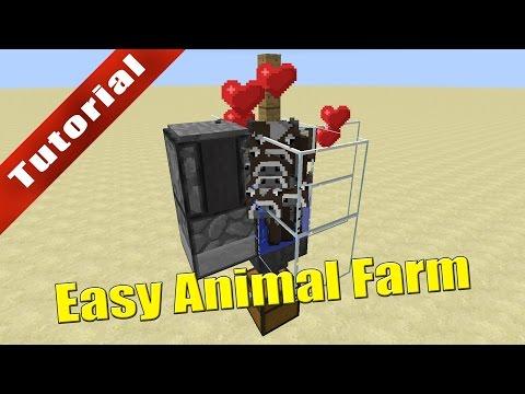 Minecraft: Easy Automatic Animal Farm (1.11+) - Tutorial