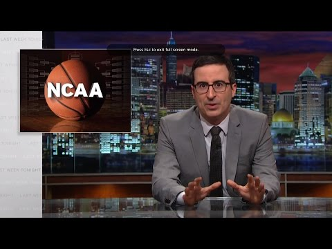 Last Week Tonight with John Oliver: The NCAA (HBO)