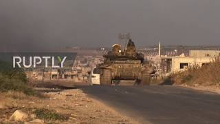 Syria: Syrian Arab Army moves into key Idlib town of Khan Sheikhoun
