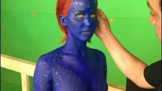 Jennifer Lawrence Naked in X-Men Days of Future Past!