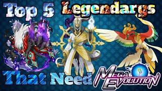 Download Top 5 Legendary Pokemon Who Deserve Mega Evolution ( Explain in Hindi ) Mp3