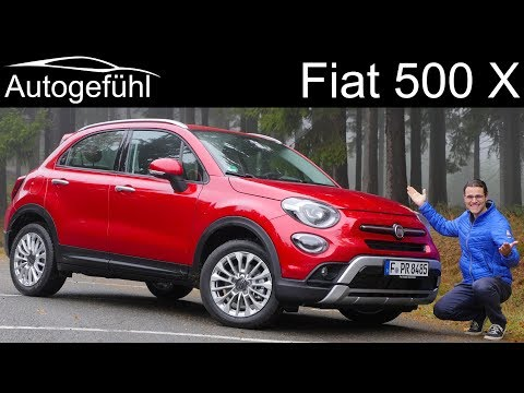 2019 Fiat 500X Facelift FULL REVIEW - Autogefühl