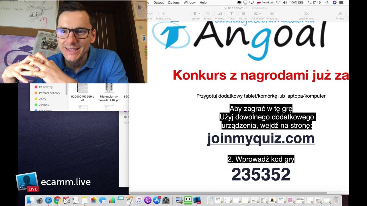 Angoal live no9 jobs zawody places miejsca sports sporty