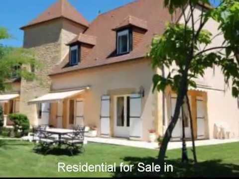 French Property: House For Sale in France- Terrasson, Dordogne 24, Aquitaine. 499,000€.