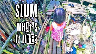 😮 What it's Like INSIDE a SLUM in Palawan