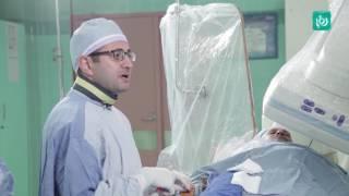 القسطرة العلاجية لأمراض القلب بإستخدام شريان الرسغ