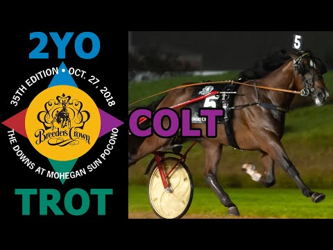 Gimpanzee: Breeders Crown 2 Year Old Colt Trot $600,000 Championship Final #BCrown18