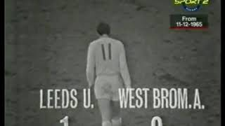 (11th December 1965) Match Of The Day - Leeds United v West Bromwich Albion