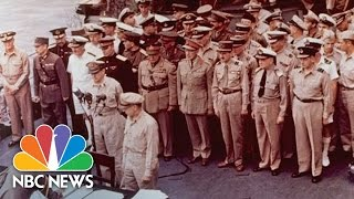 The Day Japan Surrendered, Ending WWII | NBC News
