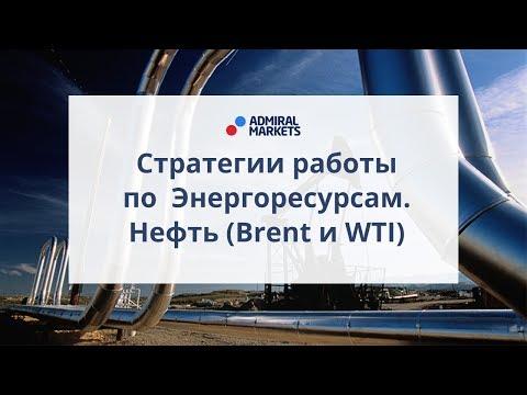 Стратегии работы по энергоресурсам. Нефть (Brent и WTI)